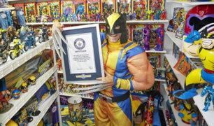 EEUU: fan de los mutantes bate récord mundial con colección de los X-Men