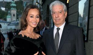 """Isabel Preysler sobre Vargas Llosa: """"Ya me siento  casada"""""""