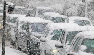 Estados Unidos: nevó en el estado de Florida por primera vez en 30 años