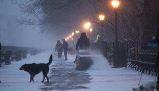 Alerta en Europa por intensas nevadas y frío extremo
