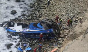 Accidente en Pasamayo: Fiscalía excluye a empresas Norvial, Levisa y San Martín de investigación
