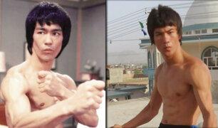 """""""Bruce Lee"""" afgano sueña con terminar la última película del fallecido actor"""