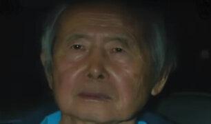 Alberto Fujimori ya está en libertad: fue dado de alta de clínica Centenario