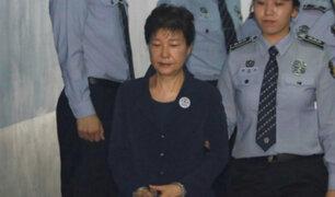 Corea del Sur: denuncian a expresidenta por desviar millones de dólares en fondos secretos