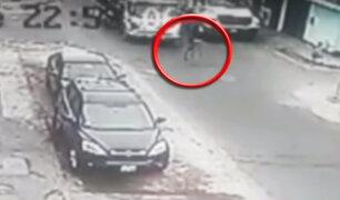 Callao: niña de 6 años muere atropellada por camión que transportaba gas