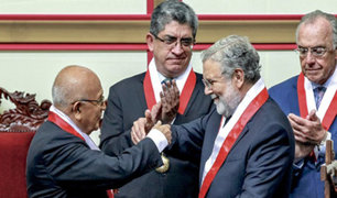 Ernesto Blume juramentó como nuevo presidente del Tribunal Constitucional