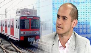 """Rodrigo Fernández de Paredes: """"trenes podrían unir todo el país"""""""