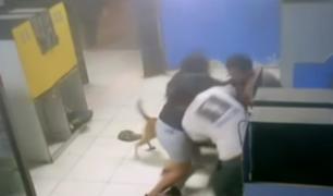 Comas: vecinos frustran robo a cabina de internet y se enfrentan a ladrón