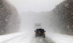 Estados Unidos: histórica tormenta invernal atraviesa casi todo el país