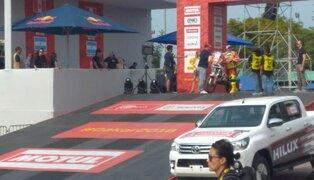 Rally Dakar 2018: se realizó partida simbólica en el Pentagonito