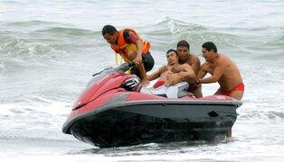 Más de 100 bañistas fueron rescatados desde el inicio del verano