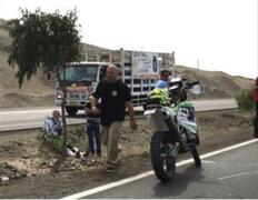 Rally Dakar 2018: piloto alemán sufre accidente en la Panamericana Sur