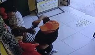 Los Olivos: 'marcas' asaltan a mujer que acababa de salir de un banco