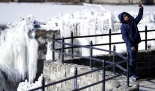 EE.UU.: intenso frío ocasiona muerte de 22 personas