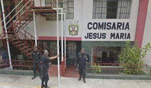 Jesús María: detienen a policía que robaba celulares a sus compañeros dentro de comisaría