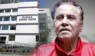 Miraflores: compositor Augusto Polo Campos fue internado de emergencia en clínica