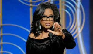 Globos de Oro 2018: El estremecedor discurso de Oprah Winfrey contra los abusos a mujeres en Hollywood [VIDEO]