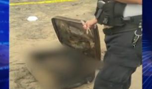 Pasamayo: Policía aún no identifica cuerpo de mujer hallado en interior de maleta