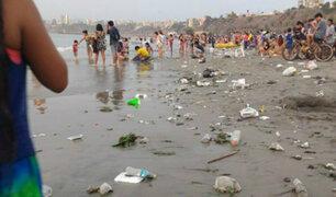 Playas de Lima en peligro: veraneantes dejan regueros de basura