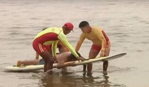 Verano 2018: rescatistas salvan a 132 bañistas en lo que va de la temporada