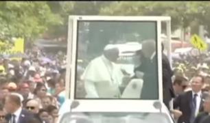Papa Francisco: medidas de seguridad están garantizadas para la misa en Lima
