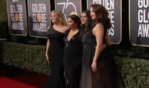Golden Globe: actrices se visten de negro en protesta por acoso sexual
