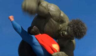 YouTube: ¿Quién gana en una pelea de Superman vs Hulk? Este animador lleva siete años buscando la respuesta [VIDEO]