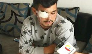 Santa Anita: joven venezolano queda desfigurado tras brutal ataque