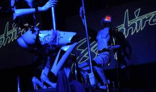Las Vegas: Robots estripers imitan a bailarinas exóticas