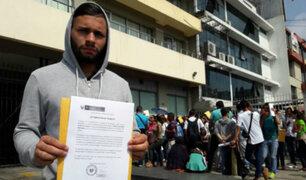 Cientos de venezolanos buscan estabilizarse en el país