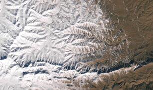 Intensa tormenta cubrió de nieve el desierto del Sahara