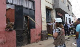 Barrios Altos: Ministerio de Cultura verifica estado de casonas tras derrumbe
