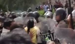 En primer día de Paro Agrario se registraron bloqueos y enfrentamientos con la policía