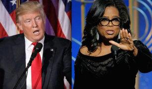 EEUU: Donald Trump afirma que vencería a Oprah Winfrey si postula a la presidencia