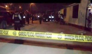 Trujillo: sicarios asesinan a tres personas en Huanchaco