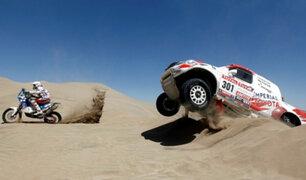 Pilotos peruanos listos para arrancar motores en el Dakar 2019