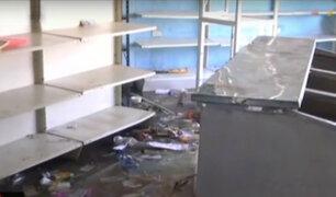 Crisis en Venezuela: reportan saqueos en panaderías y centros comerciales