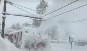 Suiza: avalancha dejó a 13 mil turistas atrapados en estación de esquí
