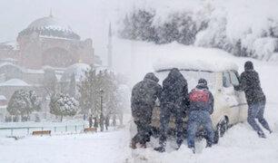 Ola de frío también llegó a Túnez