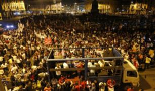Indulto a Fujimori: una nueva marcha movilizó a miles de personas en Lima