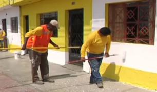 Callao: vecinos de Carmen de la Legua se preparan para recibir al Papa