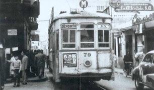 Los tranvías: un eficiente servicio de transporte que podría ordenar el tráfico en Lima