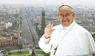 Papa Francisco: esta será la ruta que seguirá durante su llegada a Lima