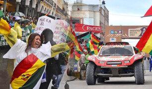 Rally Dakar llega a Bolivia en medio de protestas
