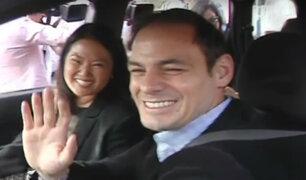 Fiscalía inspeccionó dos terrenos de Mark Vito, esposo de Keiko Fujimori