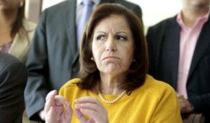 Lourdes Flores niega aportes de Camargo Correa para su campaña del 2006