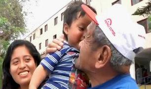 Volverte a ver: Don Humberto encuentra la alegría luego de más de 5 años de soledad