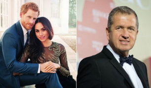 Mario Testino ya no será fotógrafo en la boda real del príncipe Harry y Meghan Markle