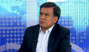 """Javier Velásquez Quesquén sobre el APRA: """"El país reclama una actitud más proactiva en la bancada"""""""