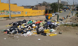 VMT en emergencia sanitaria: basura inunda calles y principales avenidas